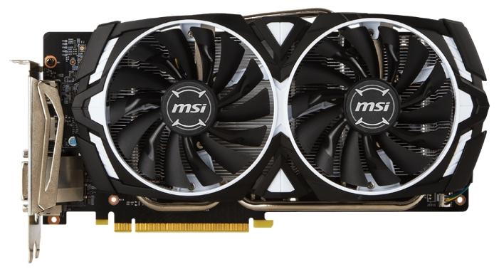 Видеокарта MSI GeForce GTX 1060 1544Mhz PCI-E 3.0 3072Mb 8008Mhz 192 bit DVI 2xHDMI HDCP, ARMOR 3G OCV1 GTX 1060 ARMOR 3G OCV1