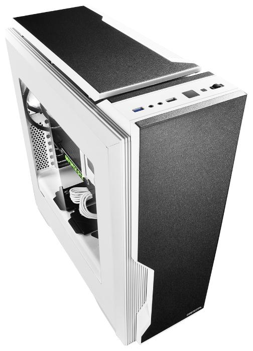 Корпус для компьютера ATX Deepcool DUKASE WH V2 без БП боковое окно, white