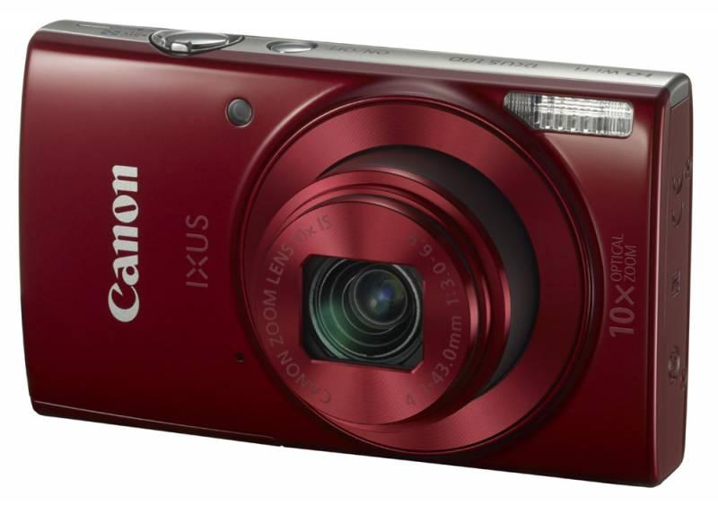 Фотоаппарат Canon IXUS 180 Red 1088C001