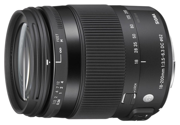 Фотообъектив Sigma AF 18-200mm f/3.5-6.3 DC MACRO OS HSM для Canon 885954