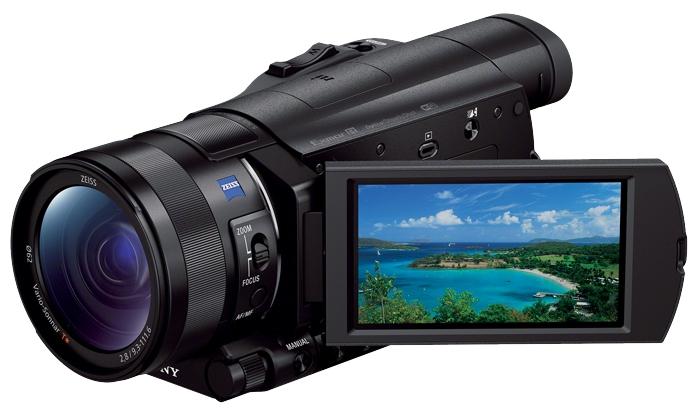 Sony HDR-CX900E, black - (ЖК-экран: есть. Сенсорный дисплей: есть. Общее число пикселей: 14.20 Мпикс)