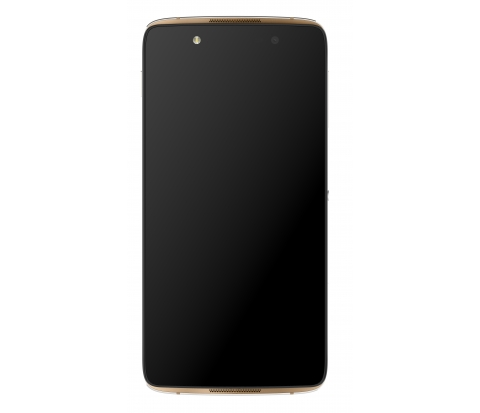 Alcatel IDOL 4 6055K 3/16Gb Gold - (; GSM 900/1800/1900, 3G, 4G LTE, LTE-A Cat. 4; SIM-карт 2 (nano SIM); Qualcomm Snapdragon 617 MSM8952; RAM 3 Гб; ROM 16 Гб; 2610 мАч; 13 млн пикс., светодиодная вспышка; есть, 8 млн пикс.; датчики - освещенности, приближения, Холла, гироскоп, компас)