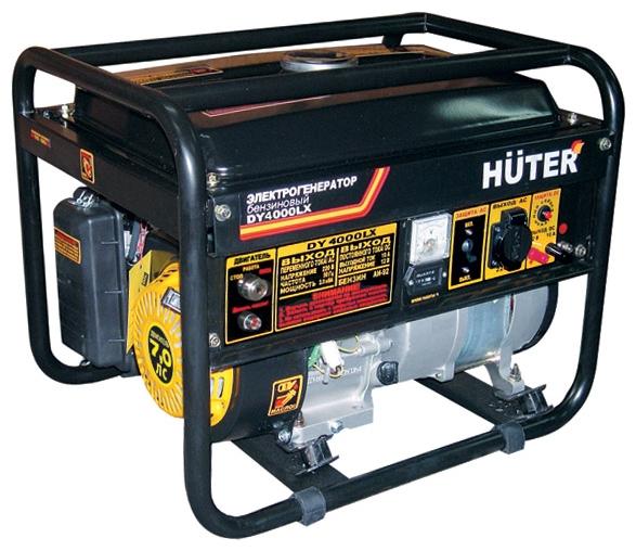 Генератор Huter DY4000LX, 3000 Вт 64/1/22