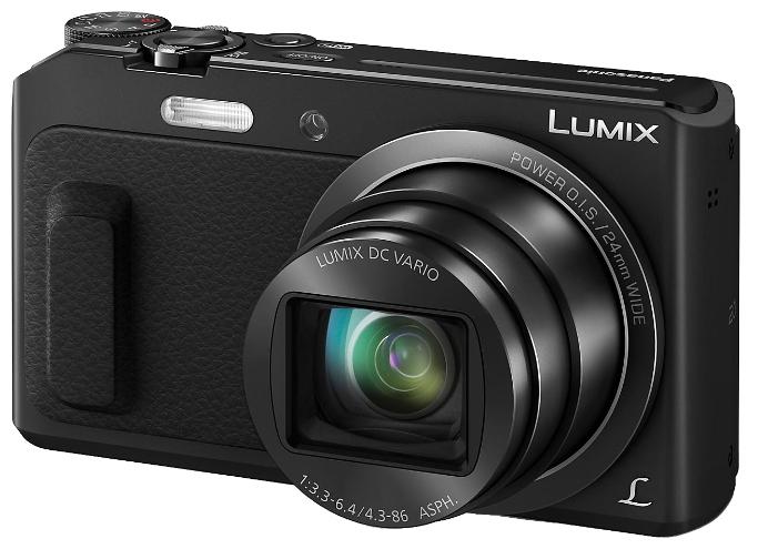 Фотоаппарат Panasonic Lumix DMC-TZ57 Black DMC-TZ57EE-K