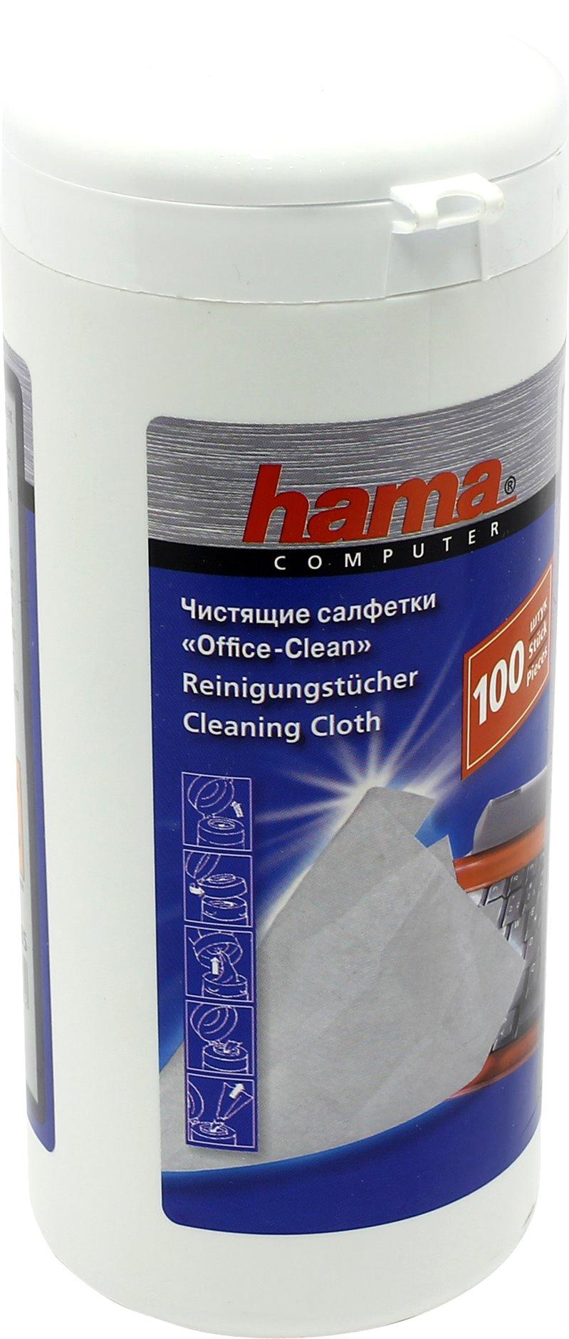 Чистящие салфетки Hama R1084185 (100 шт)