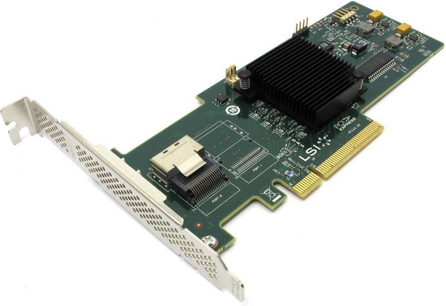 ���������� LSI Logic MegaRAID SAS 9240-4i (SAS/SATA RAID-����������, LSI00199)