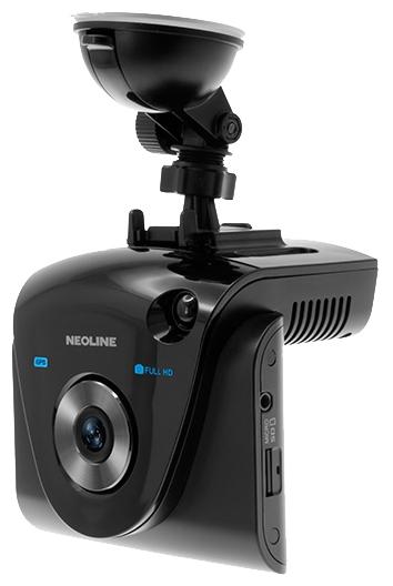 """Neoline X-COP 9700 - (с камерой, с экраном; 1920x1080 при 30 к/с; каналов в/а - 1/1; 137° (по диагонали); microSD (microSDXC) до 64 Гб; Экран 2.8"""")"""
