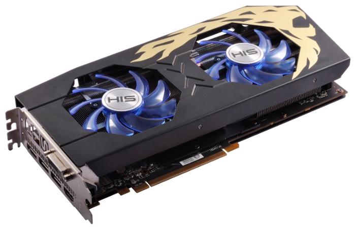 Видеокарта HIS Radeon RX 480 8192Mb HS-480R8DCBR