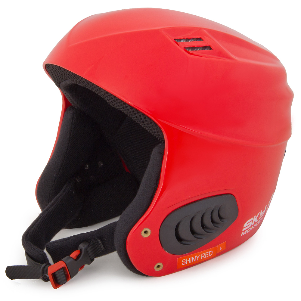 Шлем горнолыжный Sky Monkey Shiny Red (VS600) рS(55-56)