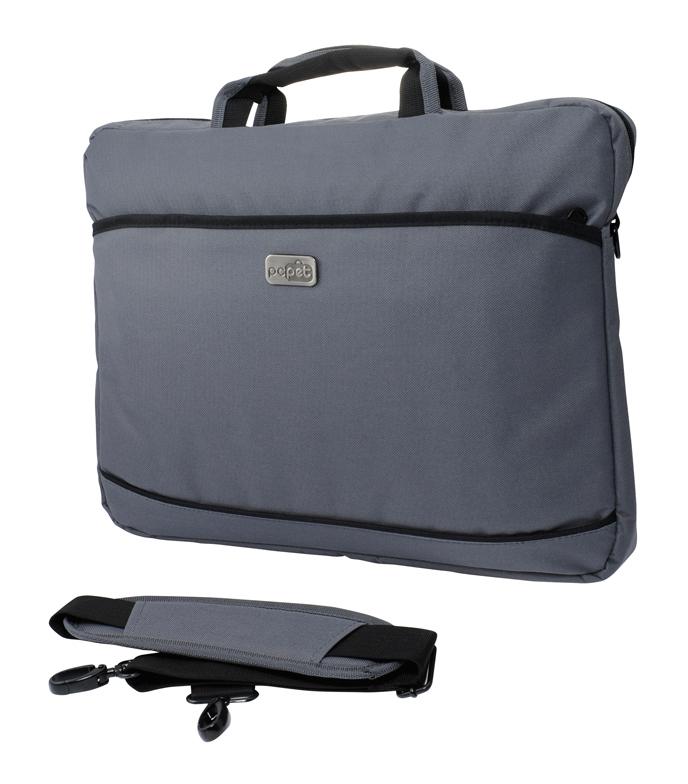 """PC PET PCP-A1117, Grey - сумка; для устройства с экраном 17.3""""; материал синтетический (нейлон) • Отделение-органайзер - есть. Внешние"""