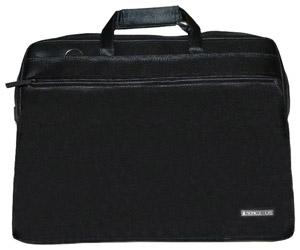 """SonicSettore Livigno Classic 15-16"""", Black - (сумка; под диагональ экрана 16""""; синтетический (нейлон). Цвет черный, синий, зеленый, красный, серый. • Отделения:, внешн. есть, органайзер есть.)"""