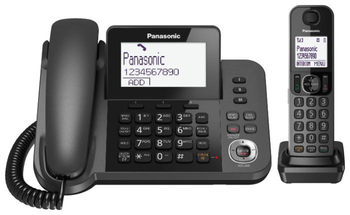 Радиотелефон Panasonic KX-TGF320 KX-TGF320RUM