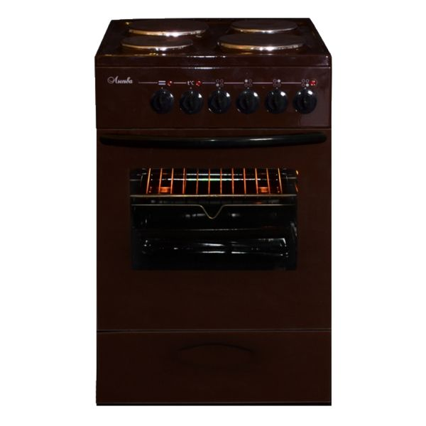 Плита Лысьва ЭП 4/1э3р3 МС, brown ЭП 4/1э3р3 МС коричневая