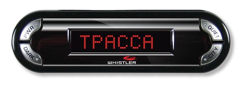 Радар-детектор Whistler PRO 3600 ST Ru GPS