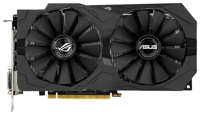 Видеокарта Asus Radeon RX 470 1206Mhz 4096Mb (Strix-RX470-4G-Gaming)