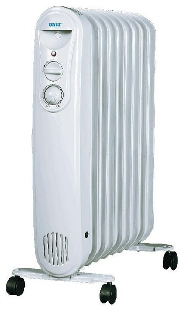 Радиатор масляный Unit UOR-940 UOR-940 (9 секций)