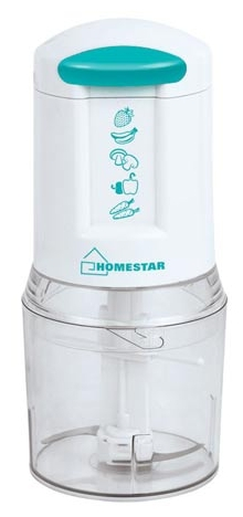 ������������ Homestar HS-2007, white with turquoise