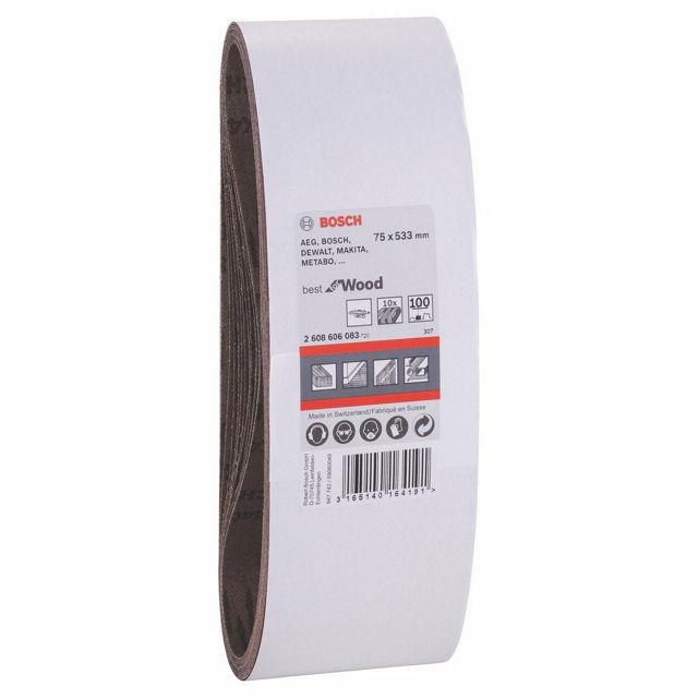 Набор Bosch 2.608.606.083 (100 grt, 75x533, 10 шт.) 2608606083