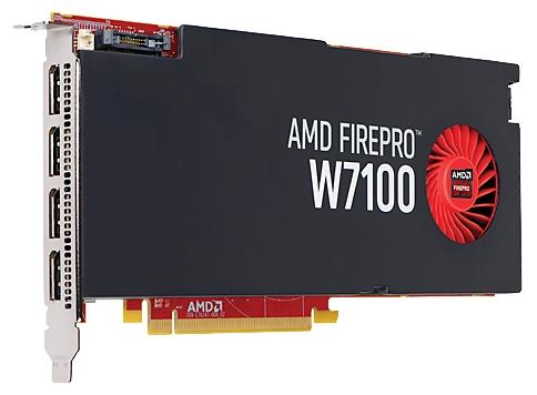 Видеокарта HP FirePro W7100 8Gb (J3G93AA)
