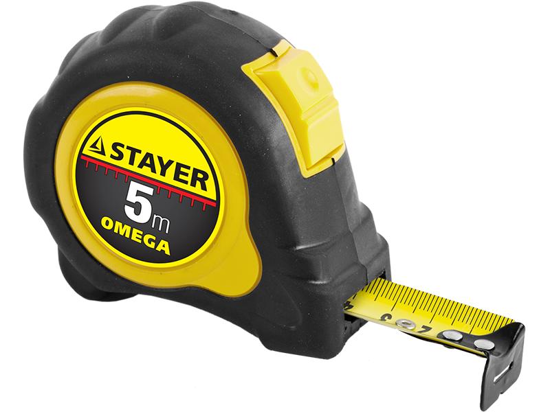 Рулетка Stayer Omega MASTER 3402-5_Z01, 5 м
