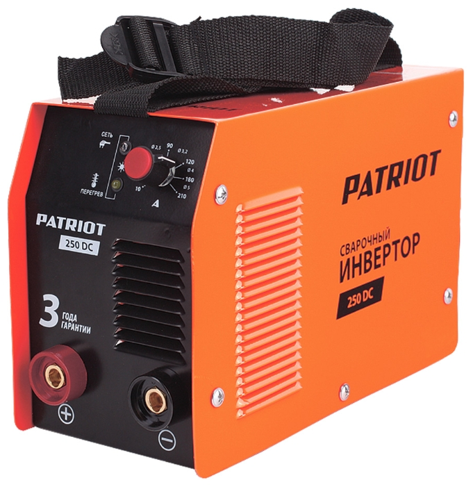 Сварочный аппарат Patriot 250 DC MMA + кейс [605302521]