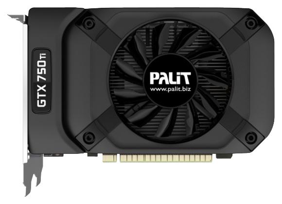 Видеокарта PALIT PCI-E NV GTX750TI 2GB GDDR5/STORMX OC NE5X75TS1341 NE5X75TS1341-1073F