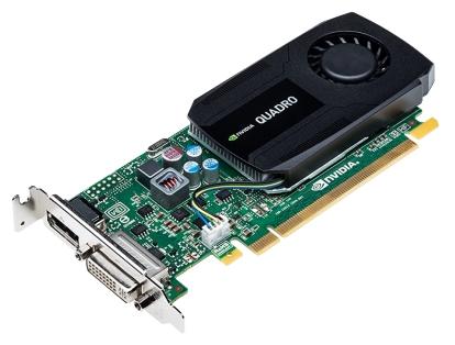 PNY Quadro K420 PCI-E 2.0 2048Mb 128 bit DVI - NVIDIA Quadro K420, 28 нм, 2048 Мб GDDR3 128 бит, TDP 41 Вт • Разъёмы: DVI-I, DisplayPort