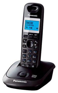 Радиотелефон DECT Panasonic KX-TG2521RUT Black/Graphite