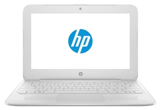 HP Stream 11-y007ur (Y7X26EA), White - (Intel Celeron N3050 1600 МГц. Экран 11.6 дюймов, 1366x768, широкоформатный. ОЗУ 2 Гб DDR3L 1600 МГц. Накопители SSD 32 Гб; DVD нет. GPU Intel GMA HD. ОС Win 10 Home)