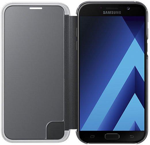 Чехол-книжка Samsung для Samsung Galaxy A7 (2017) Clear View Cover, black