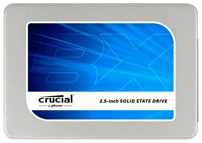 """Crucial CT480BX200SSD1 - (SSD; 480 Гб; 2.5""""; SATA 6Gbit/s (600 Мб/с) • для ноутбука и настольного компьютера)"""