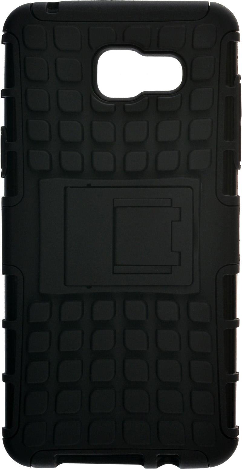 Чехол-накладка SkinBox Defender case для Samsung Galaxy A5 (2016) Black