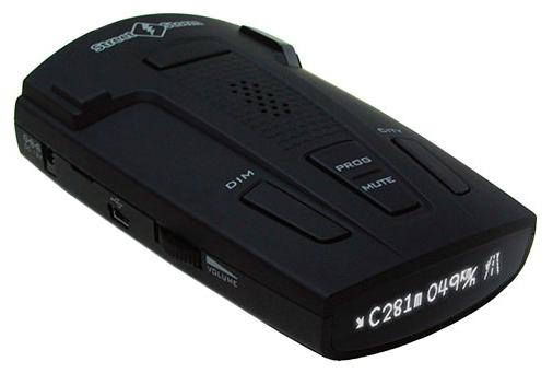 Street Storm STR-9540EX GL - (Ultra-K, Ultra-Ka, Ultra-X, POP, Instant-On, режим Город: есть, количество уровней - 3, режим Трасса: есть, отображение информации: символьный дисплей)