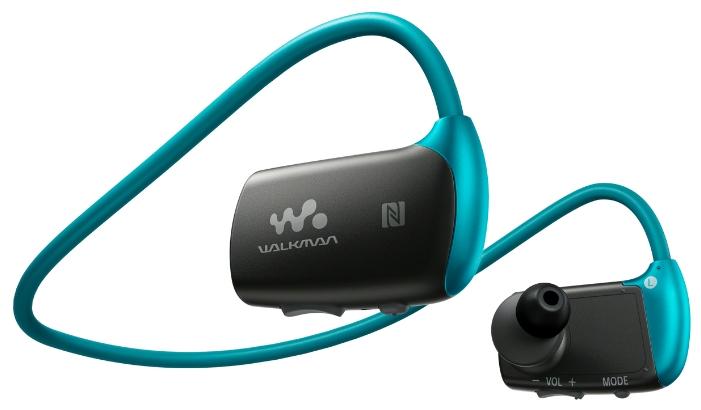 Sony Walkman NWZ-WS613 4 ГБ, blue - (Экран - нет; 4 Гб; USB 2.0)