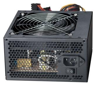 ExeGate ATX-XP450 450W - 450 Вт, 1 вентилятор (120 мм), PFC нет, линия +12В(1) - 17 A, линия +12В(2) - 16 A • Molex: 2 / SATA: 3 /