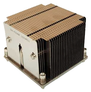 SuperMicro SNK-P0048P PASSIVE - для процессора; вентиляторов нет (пассивное охлаждение); радиатор - алюминий+медь • S2011