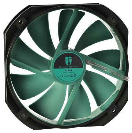 Вентилятор DeepCool GF140 Ultra silent PWM black DPGS-FGF-GF140BK