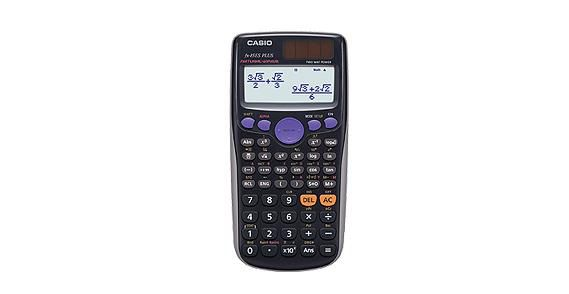 Калькулятор Casio FX-85ES PLUS 12-разрядный Чёрный FX-85ESPLUS