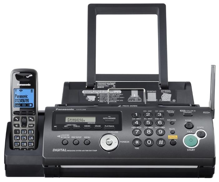 Факс Panasonic KX-FC268RU, лист, A4 KX-FC268RUT