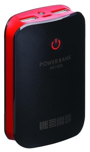 Аккумуляторная батарея InterStep PB7800UBR, red/black IS-AK-PB7800UBR-000B201