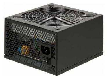GIGABYTE GZ-EBS60N-C3 600W - 600 Вт, 1 вентилятор (120 мм), линия +12В(1) - 30 A, линия +12В(2) - 30 A • Molex: 3 / SATA: 6 / CPU 4+4pin