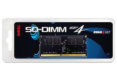 Оперативная память GeIL GS48GB2400C16S, 1x8Gb (DDR4 SO-DIMM, 2400MHz, CL16)