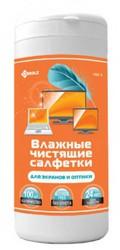 Чистящие салфетки Чистящие салфетки KREOLZ NBT-1 (Арт. 130001) влажные в тубе для LCD/TFT мониторов и телевизоров