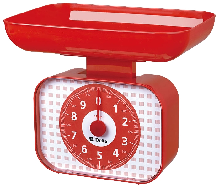Весы кухонные Delta КСА-105 red КСА-105 красный