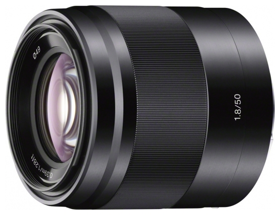 Фотообъектив Sony 50mm f/1.8 OSS (SEL-50F18), black SEL50F18B.AE