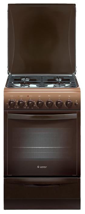 Плита газоэлектрическая Гефест 5102-02 0001, brown