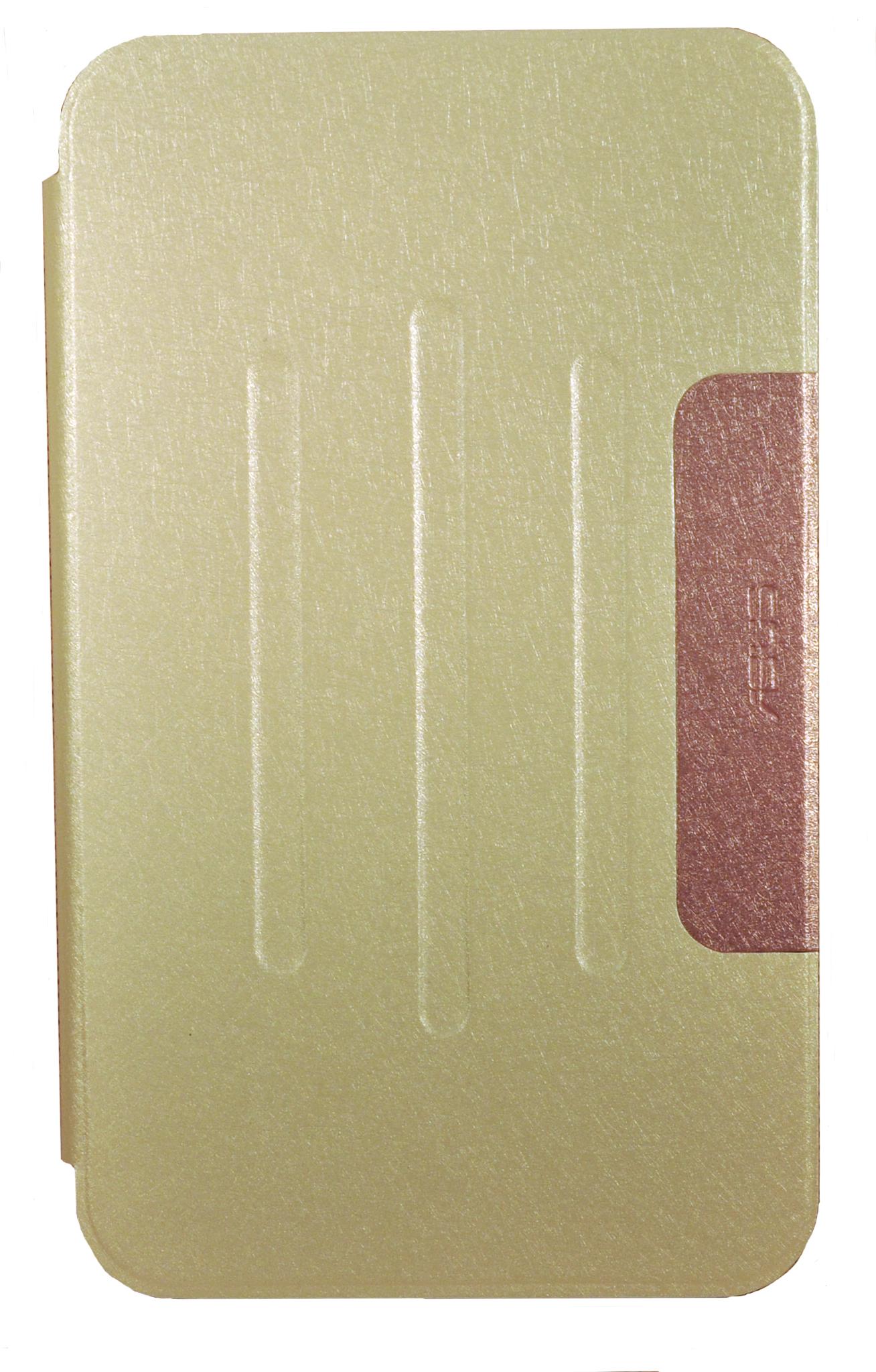 Чехол-книжка Book Cover для ASUS MeMO Pad 8 ME581CL золотистый 2000878020788
