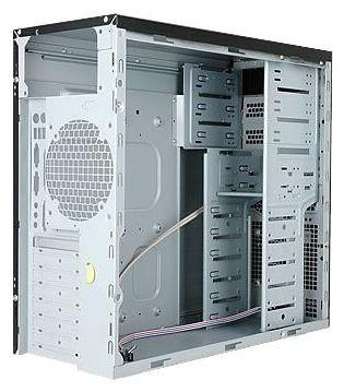 "IN WIN EAR002 450W Black/silver (EAR002BS) - Midi-Tower • ATX, mATX • БП 450 Вт • Отсеки: 5.25""-3, 3.5""(внеш)-2; 3.5""(внутр)-6;"