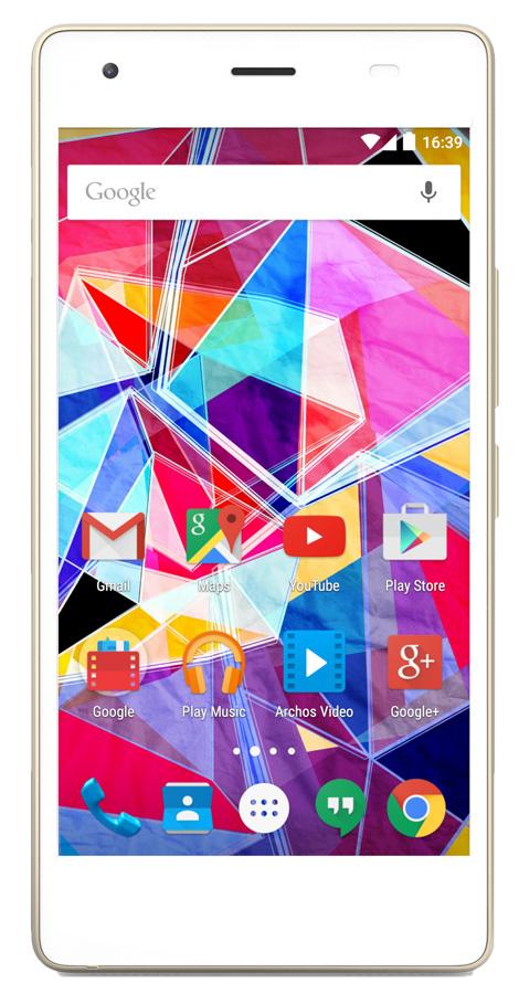 Archos A50 Diamond S 16G, white - (; GSM 900/1800/1900, 3G, 4G LTE; SIM-карт 2 (Micro SIM); MediaTek MT6753; RAM 2 Гб; ROM 16 Гб; 2300 мАч; 16 млн пикс., светодиодная вспышка; есть, 8 млн пикс.; датчики - освещенности, приближения)