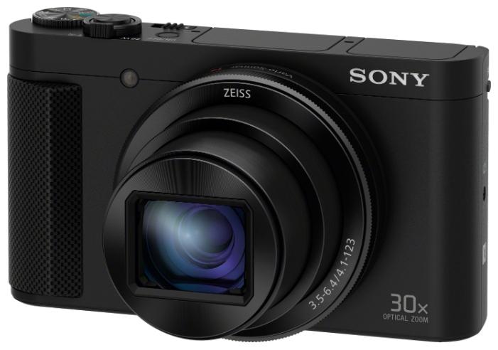 Sony CyberShot HX90 Black - (18.2 млн, оптический zoom: 30x, 1920x1080, 10 кадр./сек, ЖК-экран: поворотный, 921600 точек, 3 дюйма)
